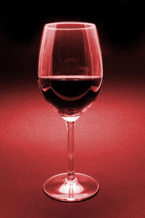 glass of red wine detail Stock Photo