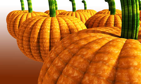 large pumpkin: Orange large pumpkin background illustration Stock Photo
