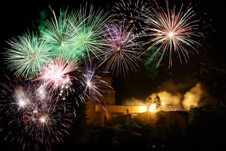 twenty thirteen: New year fireworks