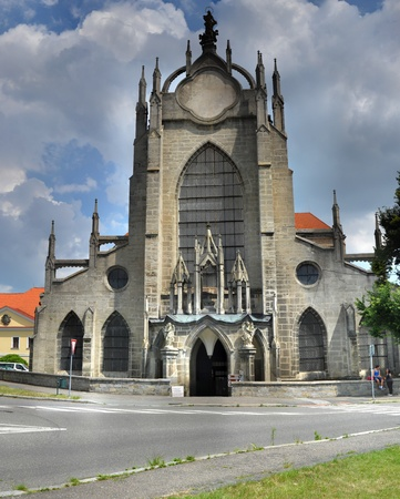 cistercian: Cathedral in Sedlec, near of Kutna Hora