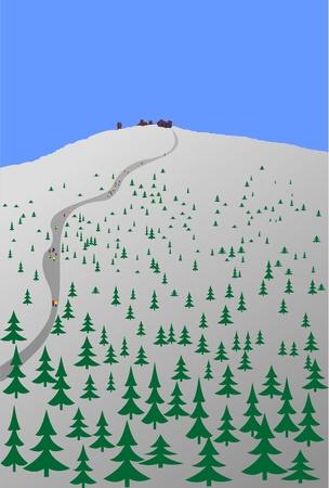 moutain: Trip to Snezka mountain