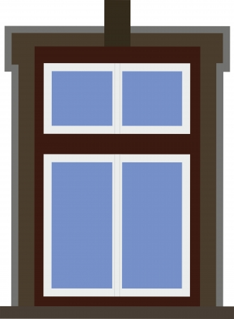 approximately: Window On The House 684 2 Approximately 19  Century