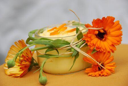 salve: marigold ointment