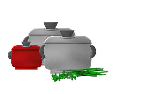 cooking pot Stock Photo - 12633242