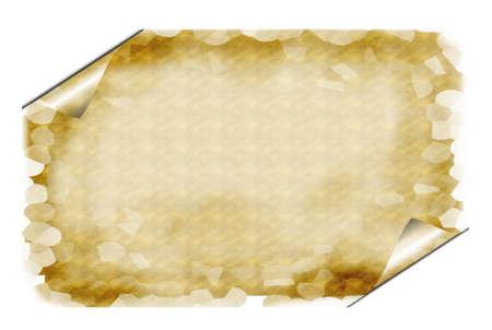 Papyrus text box Outline photo