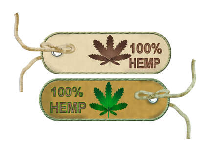 cannabis leaf: Natural fiber hemp sustainability