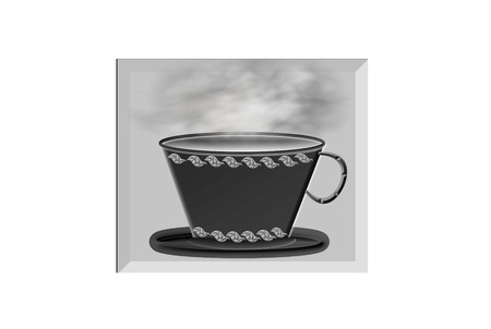 webbanner: coffee cup button