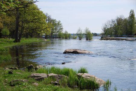 white salmon river: Smaland Sweden
