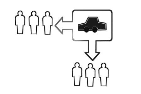 carsharing sustainability Stock Photo - 14403898
