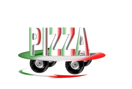 free plates: pizza service