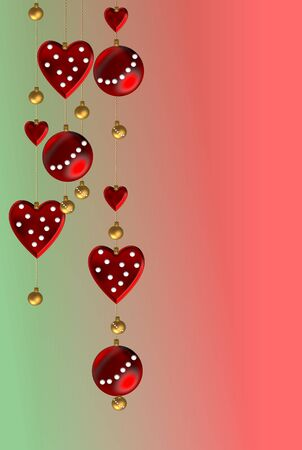 Christmas garlands with points  photo
