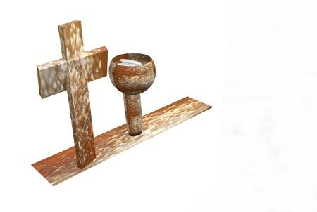 Christian Symbols 3D photo