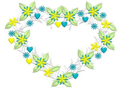 Floral Heart midsummer photo