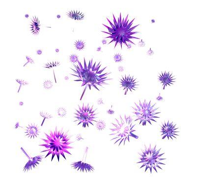 teeny: nanoparticles Stock Photo
