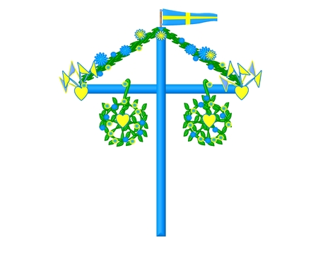 Midsummer symbol sweden  photo