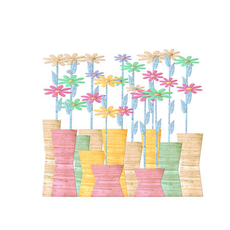blooming: blooming decoration