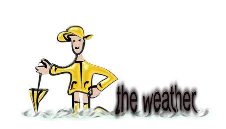 forecast: Weather Forecast in rainwear