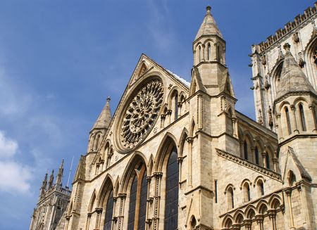 synod: The Minster, York, UK  Stock Photo