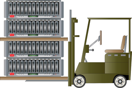 terabyte: Data Transfer Illustration