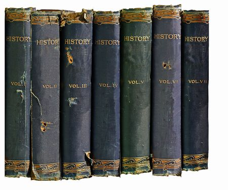 history books: Old History Books