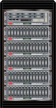 nas: Computer Server Cabinet