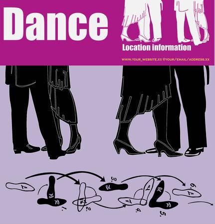 ballroom dance: Dance Flyer