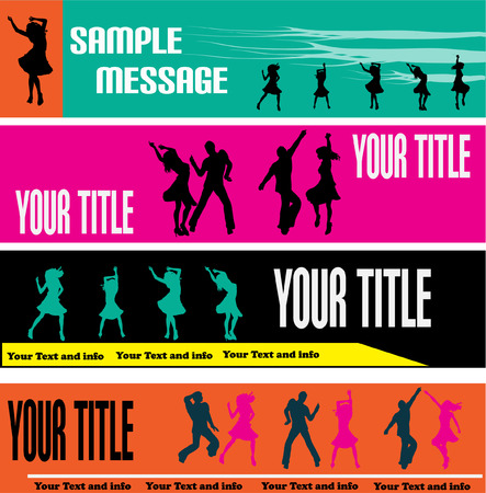 Dance Web Banner Templates