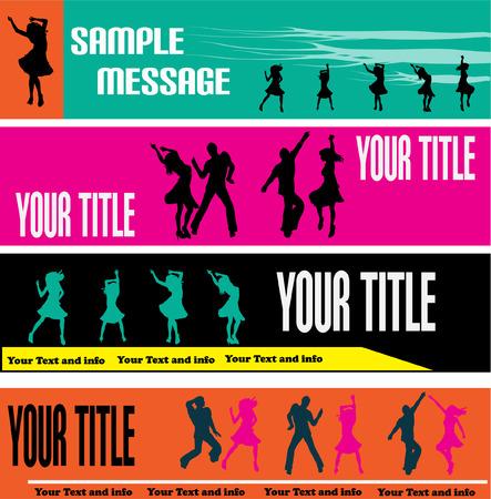 jive: Dance Web Banner Templates