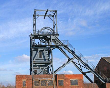 shaft: Coal Mine Winding Gear