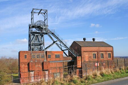 industrial heritage: Abandoned Pithead Buildings