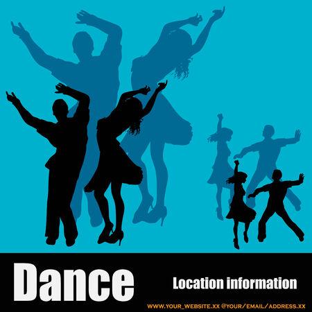Dance Club Flyer Vector