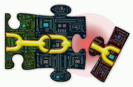 security breach: Security Breach Jigsaw Puzzle