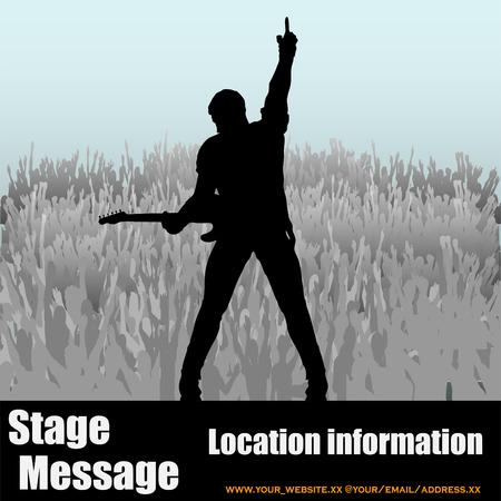 guitarristas: Mensaje etapa