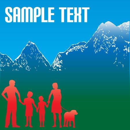 flier: Mountain Family Travel Flyer
