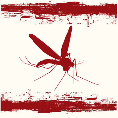 Mosquito Danger Stock Vector - 5023317