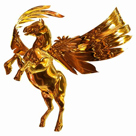 pegasus: Golden Winged Horse