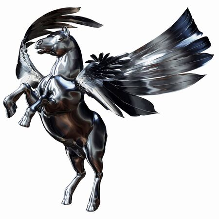 pegaso: Silver Winged Horse
