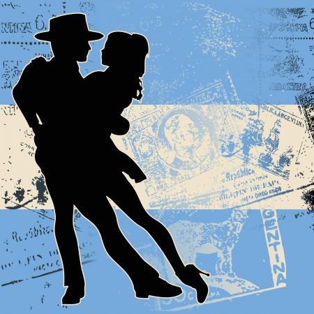 Argentine Tango Stock Vector - 5472394