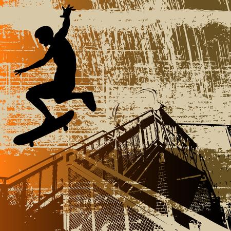 skaters: Skateboy Grunge