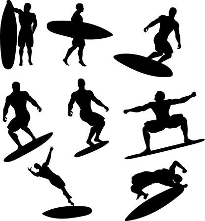 Skater Silhouettes Vector