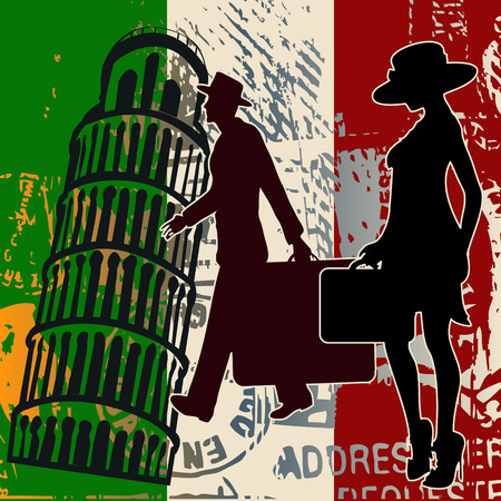 Italian Travel Illustration