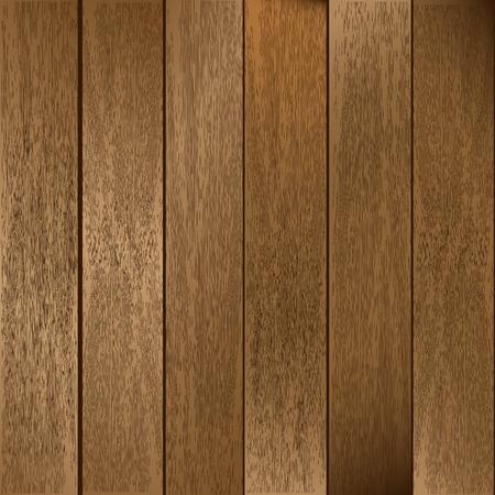 Planchas de madera  Ilustración de vector
