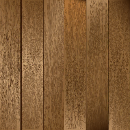 paneling: Wooden Planks  Illustration