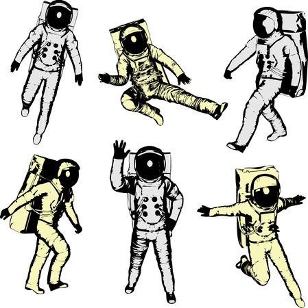 gravedad: Astronautas