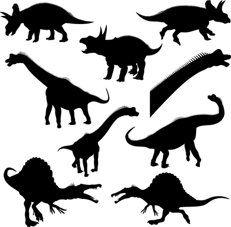 carnivores: Dinosaur Silhouettes