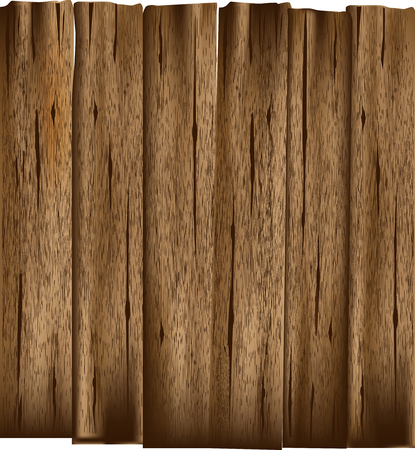 Old Wooden Planks Vector