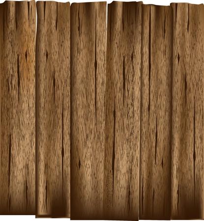 Planches en bois vieux Illustration