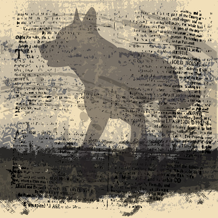 Ombre Wolf contexte Illustration