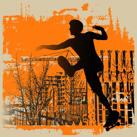 skateboard boy: Skateboy Grunge