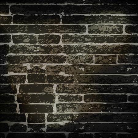 어두워: 벽돌 벽